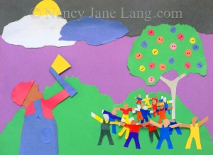 The Tiny Town of Pinit, Copyright 2014 Nancy Jane Lang