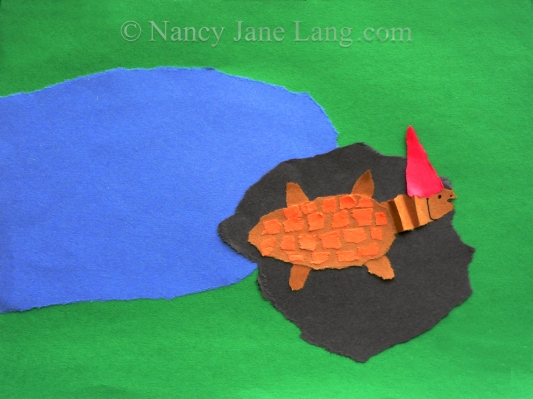 Turtle's Birthday Surprise, Copyright 2014 Nancy Jane Lang