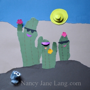 Gray Moss & The Mountain, Copyright 2014 Nancy Jane Lang
