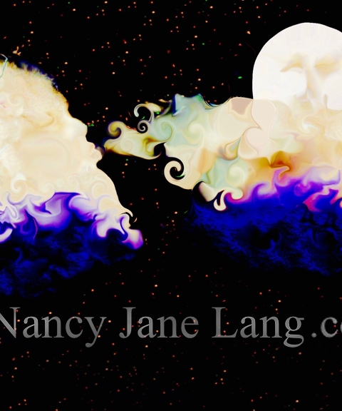 """Night Breezes 2"", illustration by Nancy Jane Lang, copyright 2016"