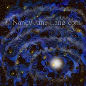 Vincents Pond, illustration by Nancy Jane Lang, copyright 2016